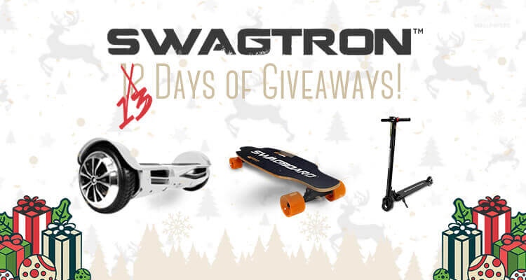 13 days of giving swagboard