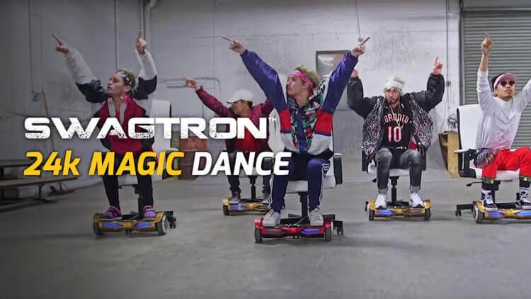 Swagtron Bruno Mars 24k Magic