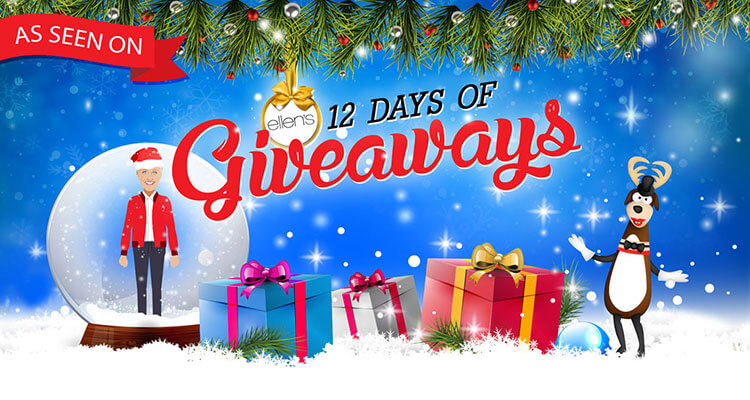 swagtron ellen 12 days of giveaways