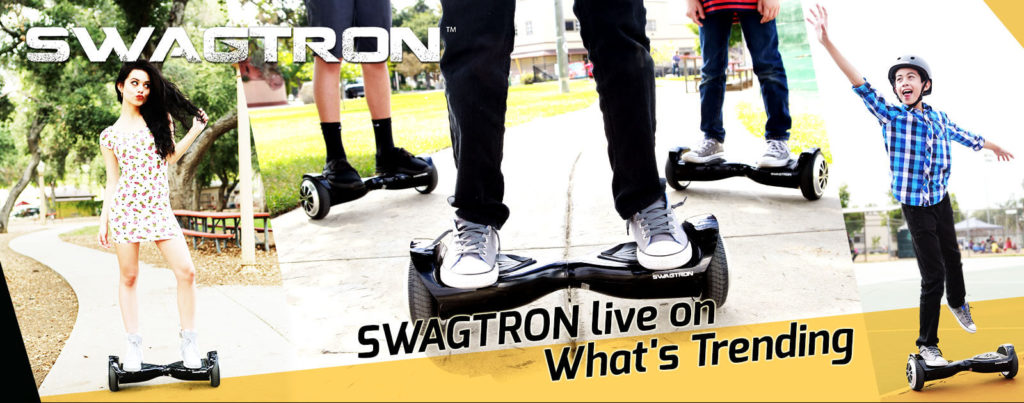 SWAGTRON featured live on What's Trending with Shira Lazar