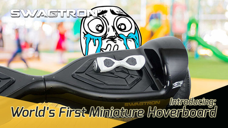 World's first miniature hoverboard