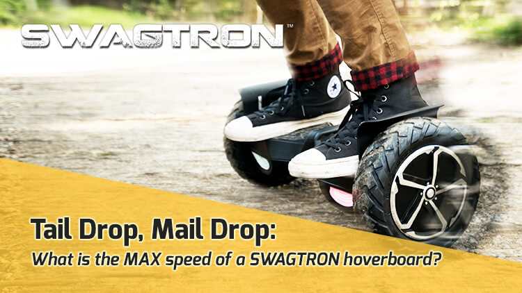 Hoverboard max speed by Swagtron