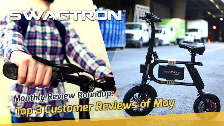 electric bike review banner by swagtron