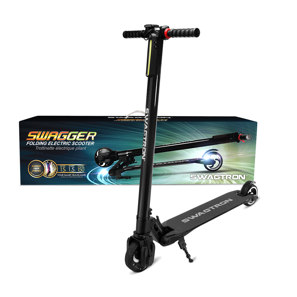 Swagtron Electric Scooter Swagger V1 Recertified