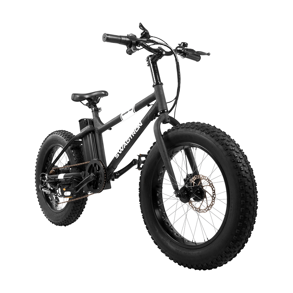 6c7ac703f2c Swagtron EB8 Foldable Fat Tire All-Terrain eBike · EB6 Fat Tire Electric  Bike