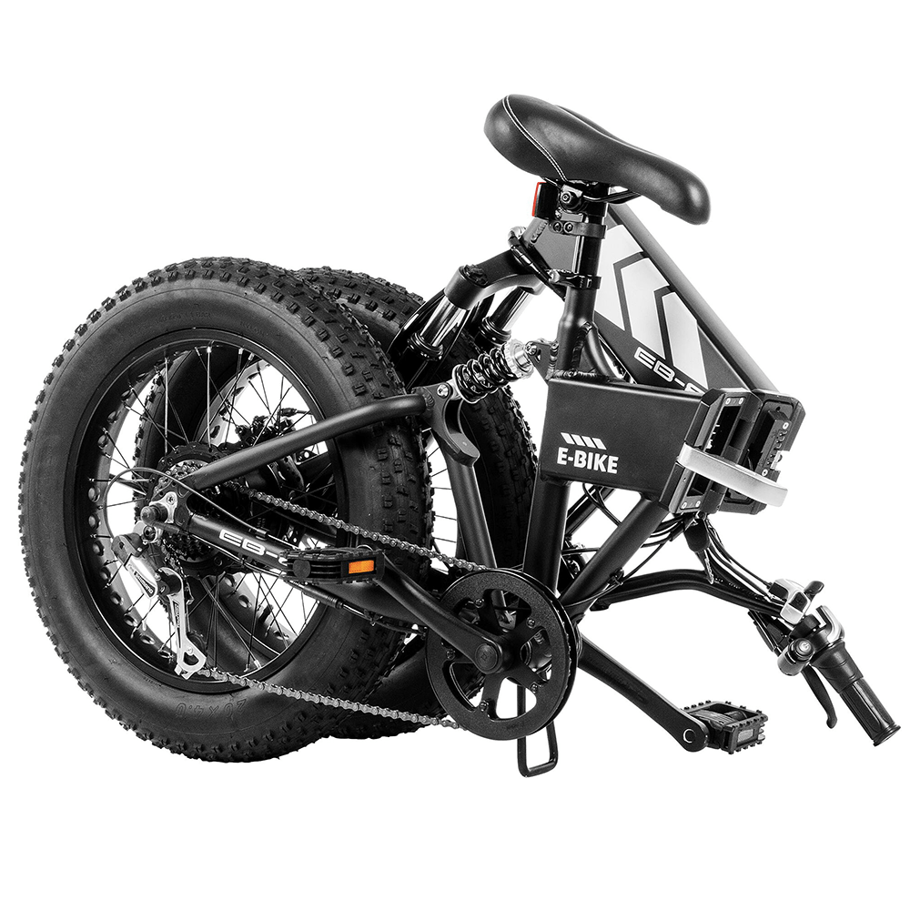 3ed9f86cec6 EB8 Fat Tire Electric Bike. 5/5. Review of Swagtron EB8 Foldable ...