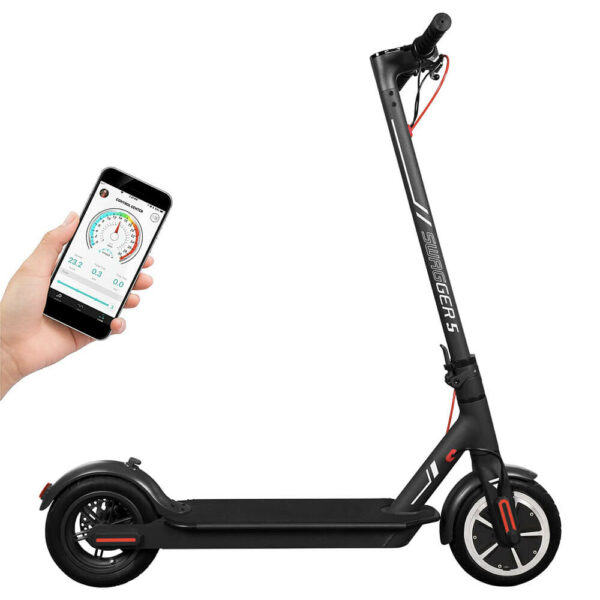 Electric Scooter with Phone App ready for City Commuting