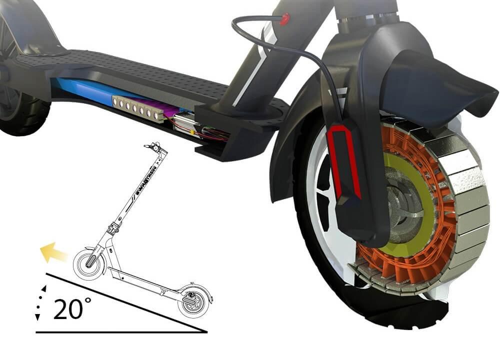 Swagger 5 250w Hub Motor with regenerative braking