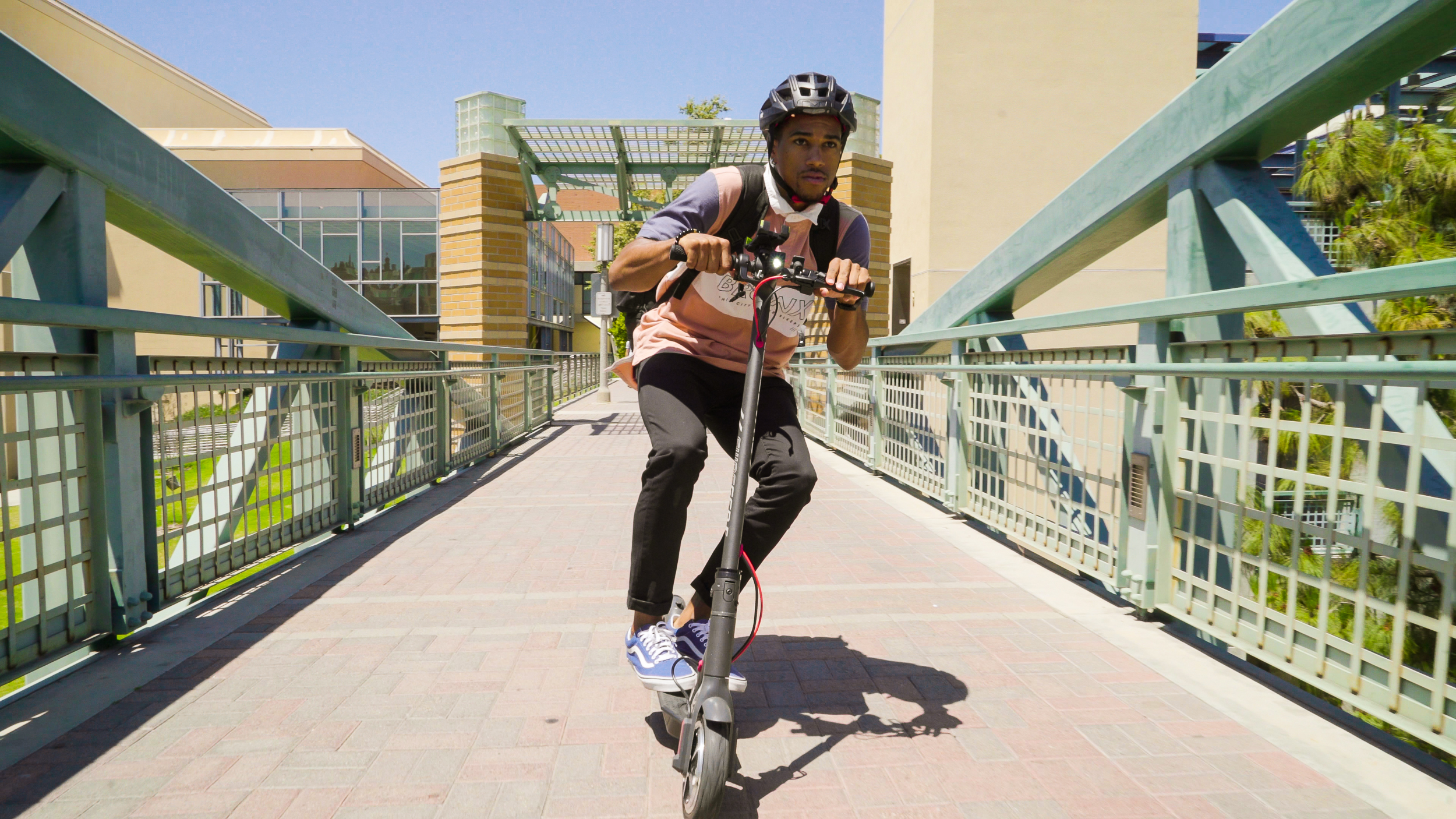 On campus? The Swagger 5 electric scooter is the perfect way to get around!