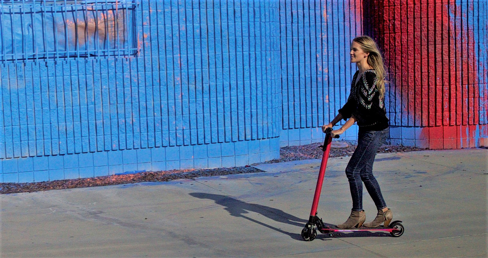 Electric scooters are perfect for commuter.