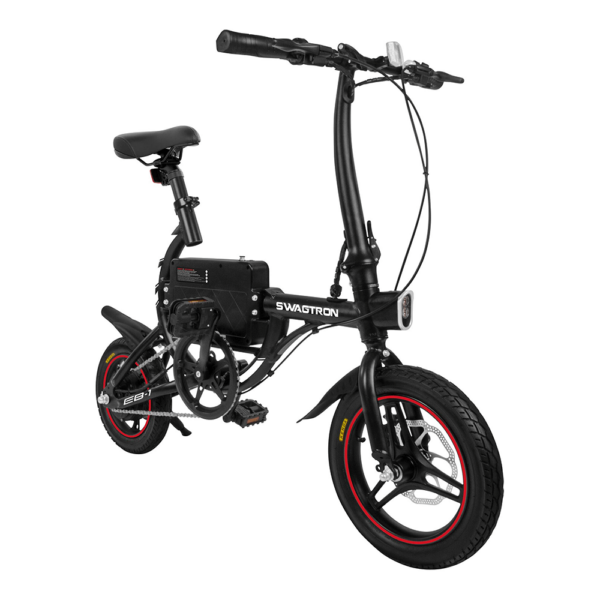 Electric Folding Bike EB1 in black color