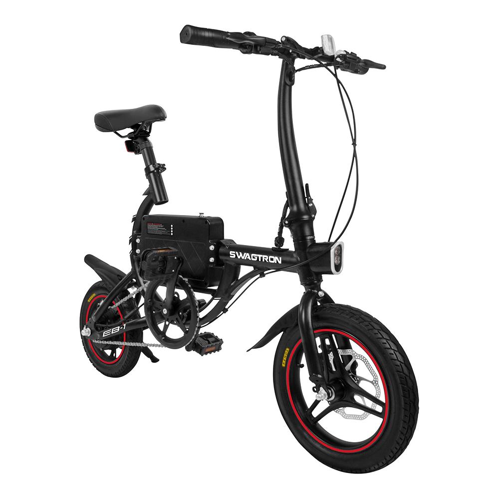 Electric Folding Bike EB1 in black color