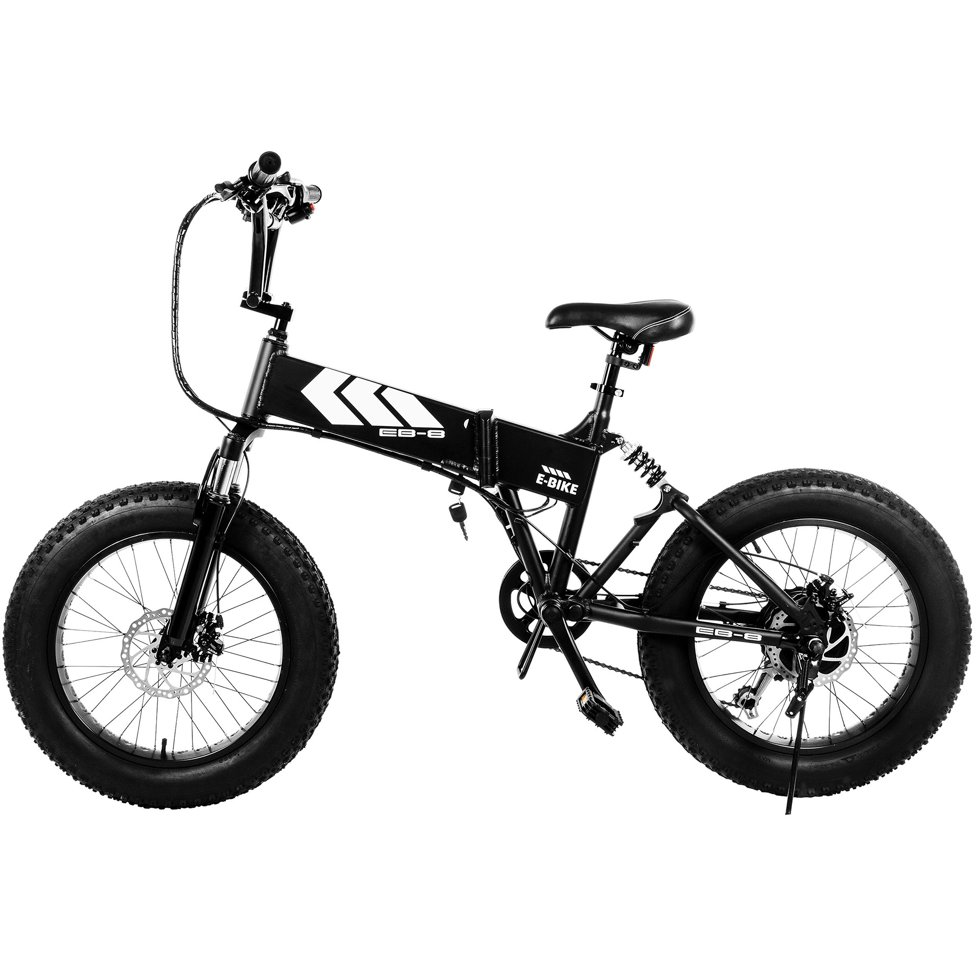 af721c84ca1 Swagtron EB8 Foldable Fat Tire All-Terrain eBike — Swagtron