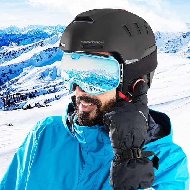 SWAGTRON Smart Ski Helmet Snowtide
