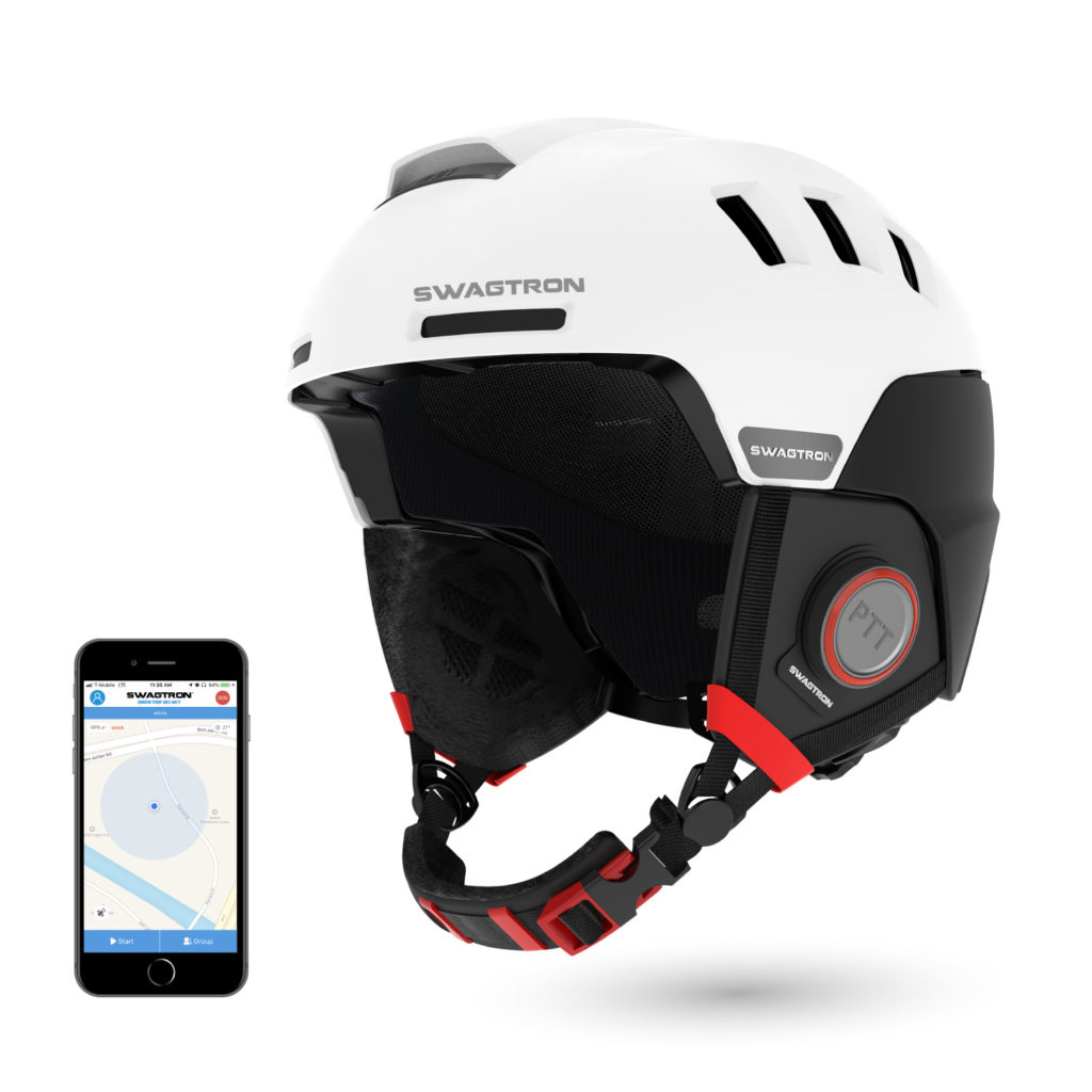 Ski Snowboard Helmet with Bluetooth Speakers