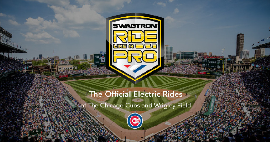 Ride Like a Pro - Official eRideables of the Chicago Cubs