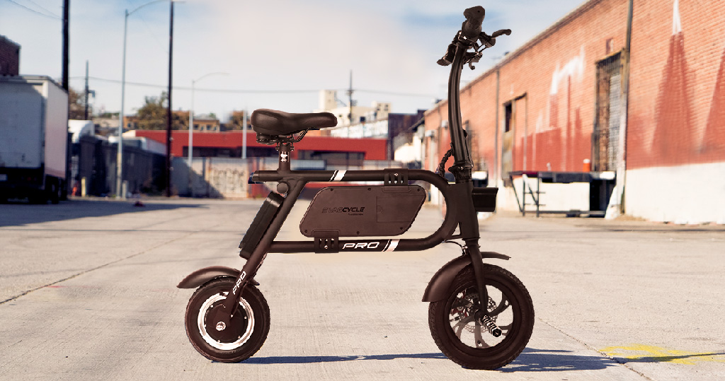 Swagcycle Pro Smart Electric Bike, an official eBike of the Chicago Cubs