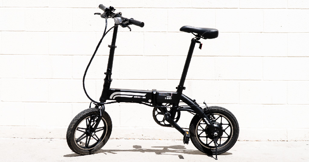 Swagtron EB5 Pro City & Campus Electric Bike, an official eBike of the Chicago Cubs