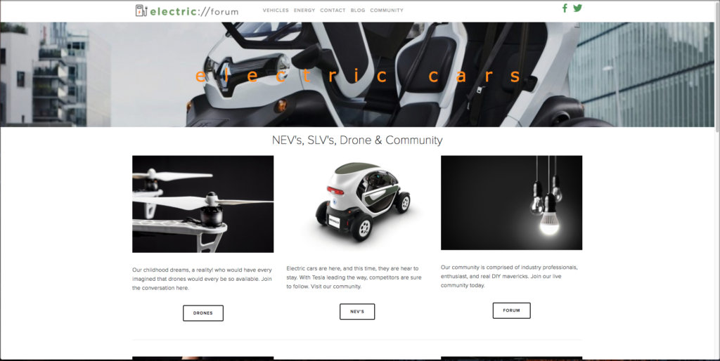 Electric Forum resource for electric scooters