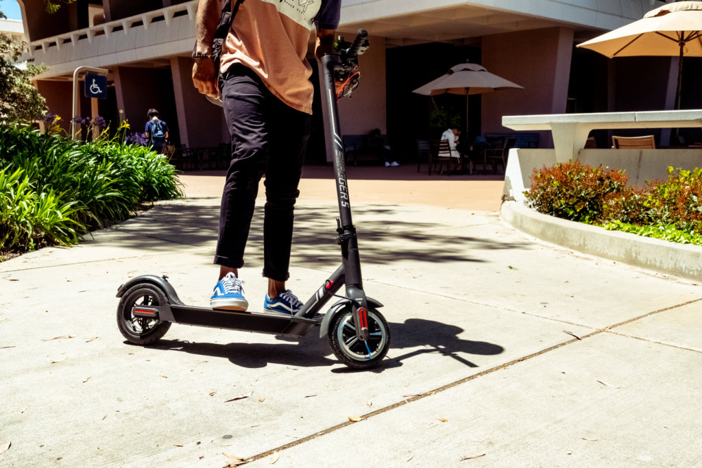 Electric last mile solutions for the campus cruiser