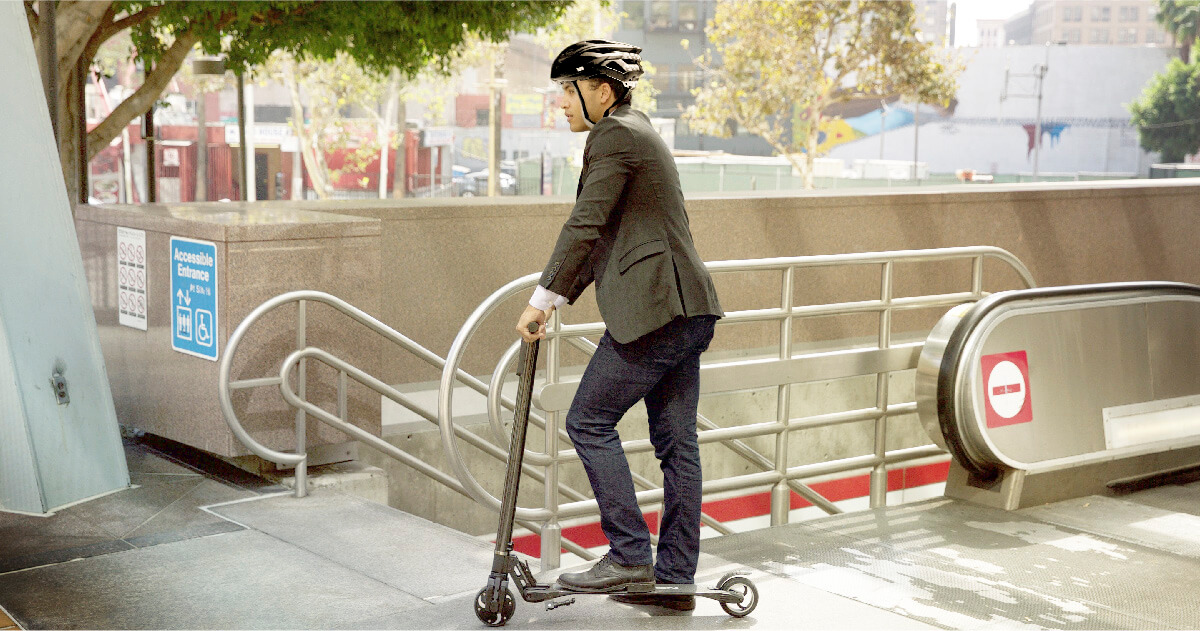 Legalities of commuting in NYC with e-scooters