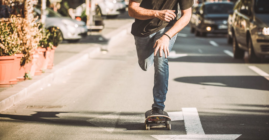 Can Skateboards Go On Bike Lanes