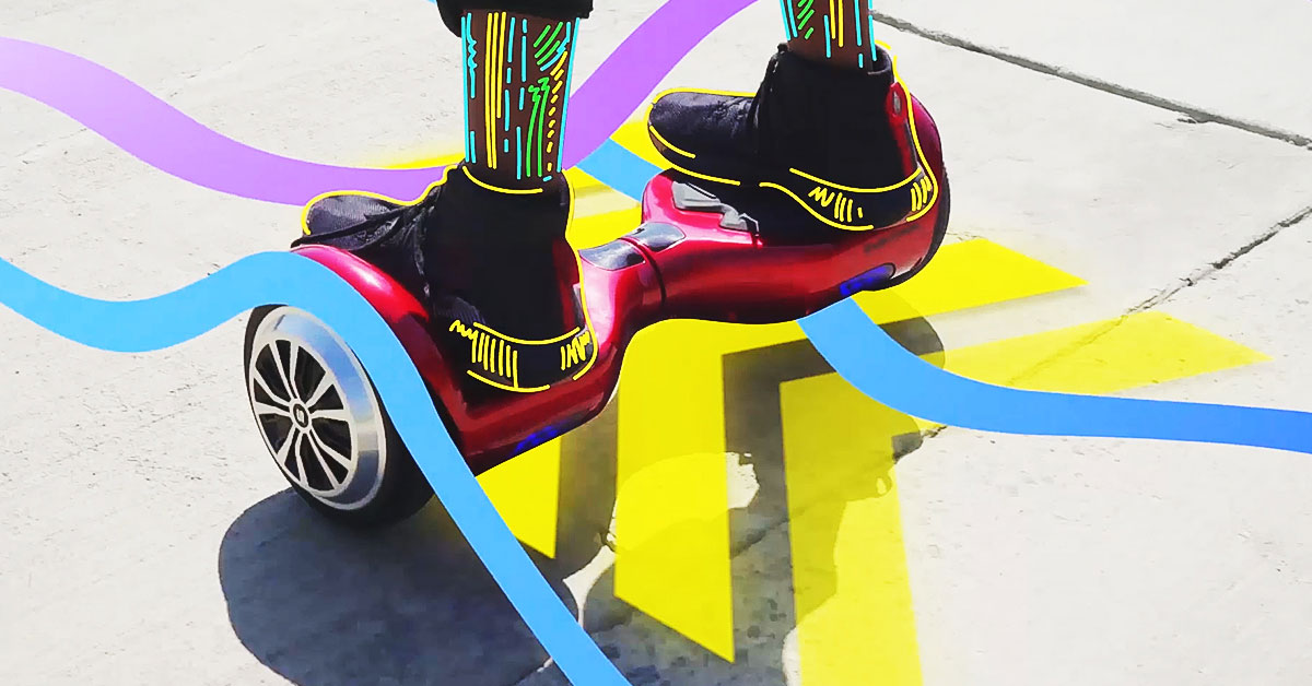Riding A Hoverboard Can Sometimes Feel Like Magic And It S Not Hard To See Why