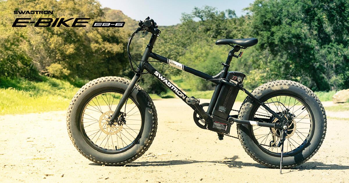 Swagtron EB-6 Electric Fat Bike