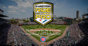 Ride Like a Pro - Official eBike and eScooter of the Chicago Cubs