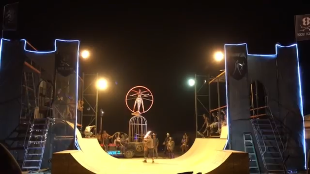 skate kastle burning man