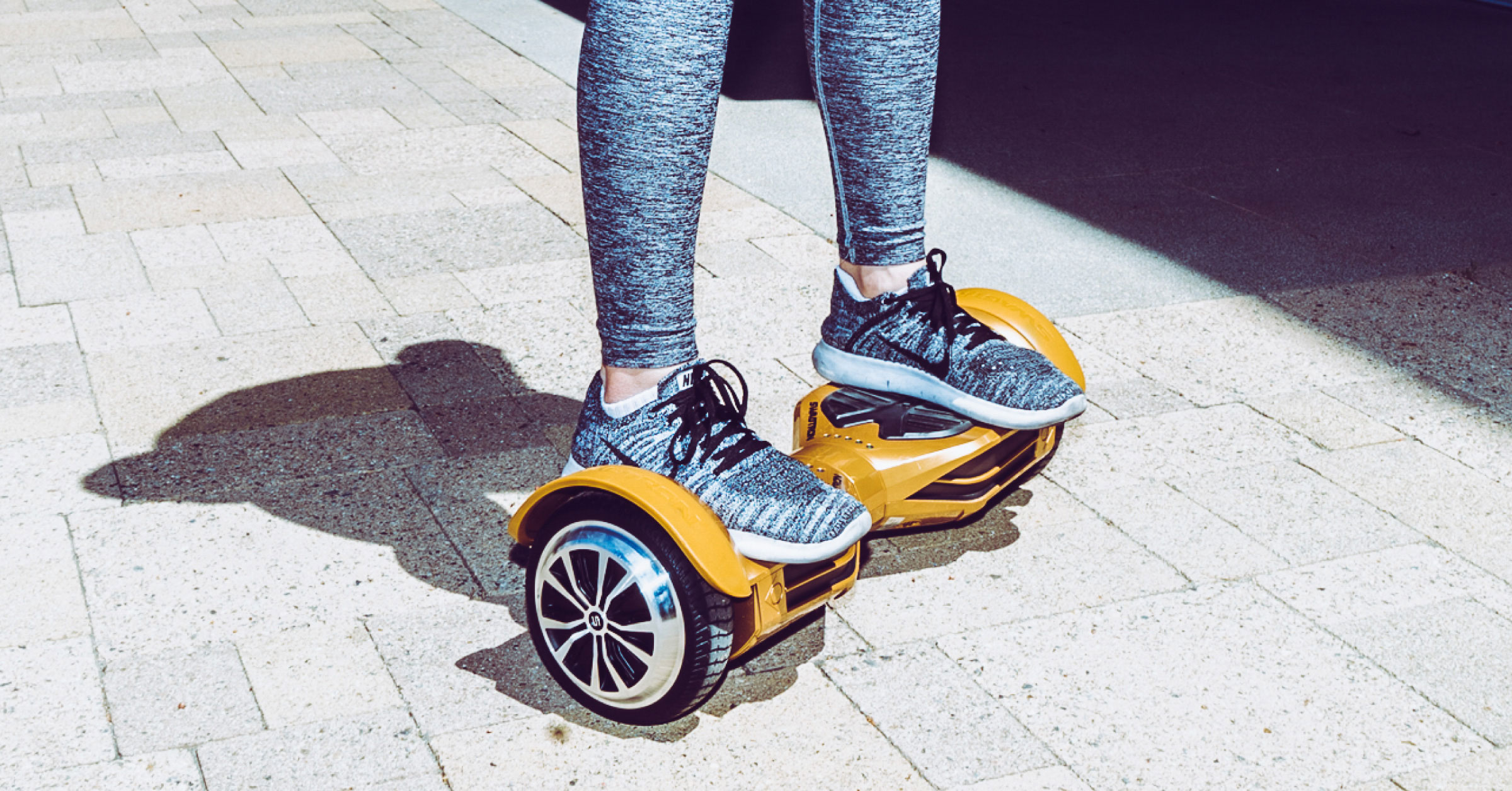 A Hoverboard Sometimes Called Self Balancing Scooter Or Smart Balance Board Is Comprised Of Two Motorized Wheels