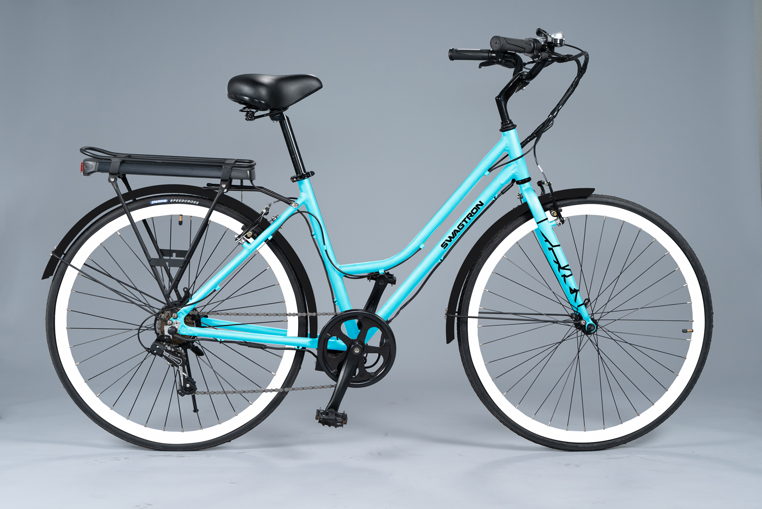 Side shot of the EB9 Step-Through Electric Bike