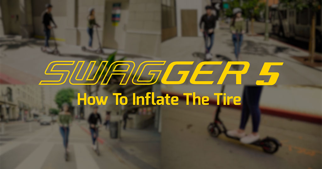 Inflating The Swagger 5 Elite Front Tire And Why Tire