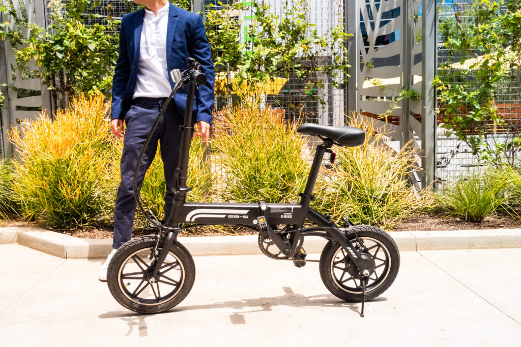 folding electric city bike | SWAGTRON EB5 Pro