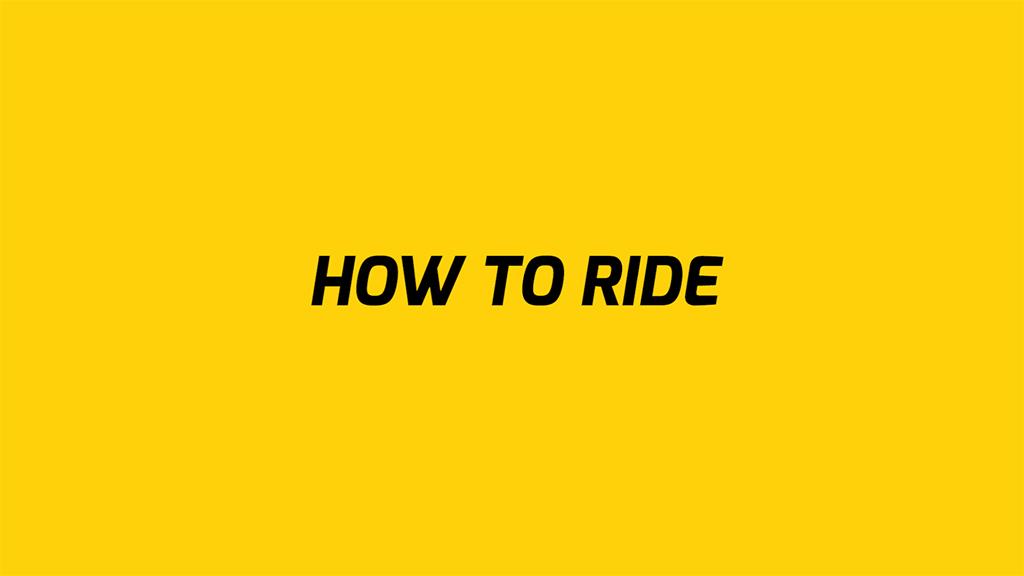 FAQ: How to ride the EB5 Pro Commuter eBike