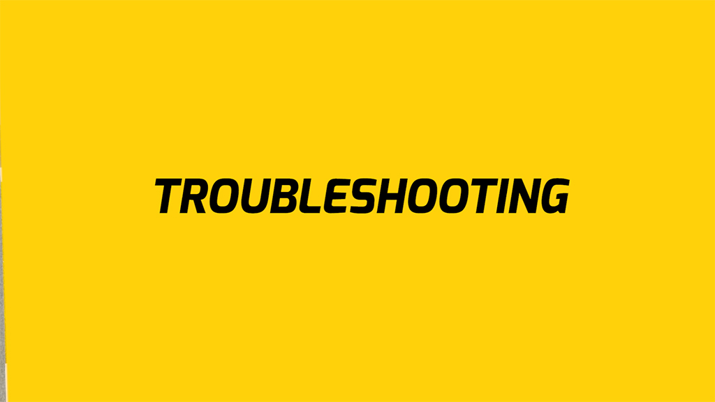 EB5 Troubleshooting tips