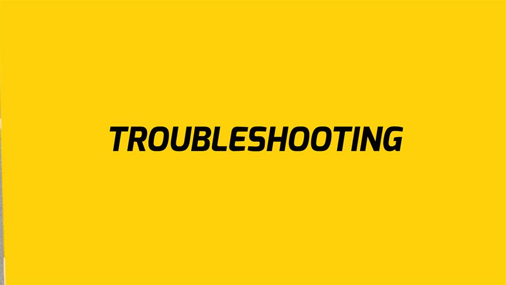 EB5 Troubleshooting tips
