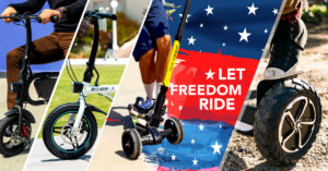 BEST 4TH OF JULY SALE | Electric Scooters | Electric Bikes | Hoverboards