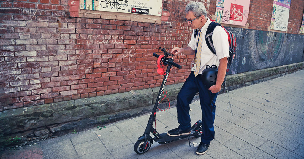 electric scooter phone mount | SWAGTRON