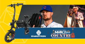 Swagcycle Pro donated to Cubs' pitcher Jon Lester's charity auction for pediatric cancer research
