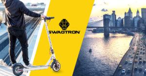 Swagger 5 Elite against a Manhattan backdrop.