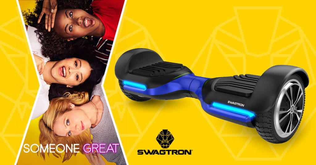 Netflix's Someone Great and the Swagboard T580 Vibe hoverboard