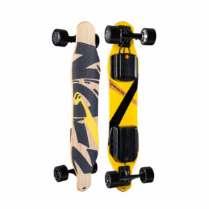 NG2 Electric Longboard top and bottom view
