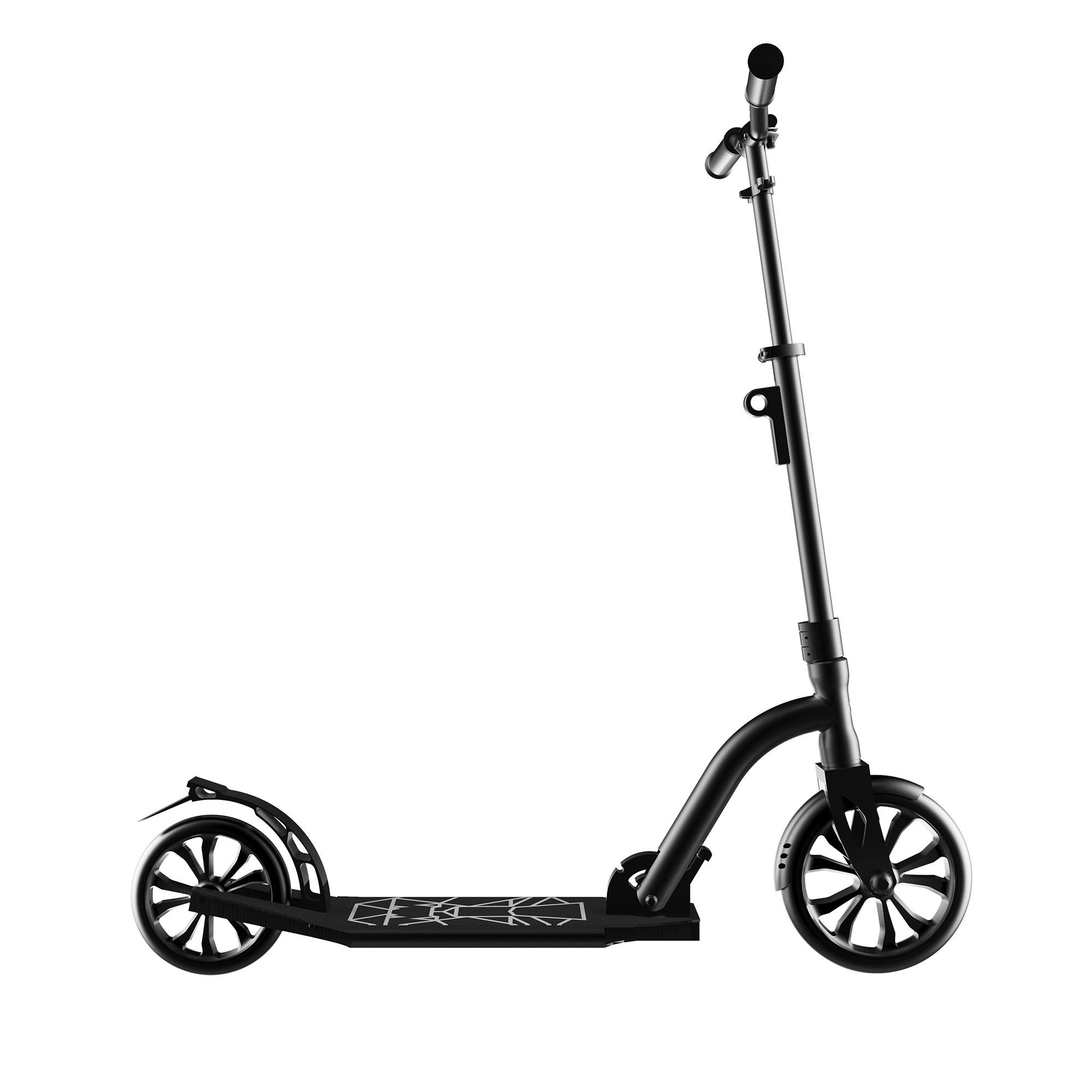 Swagtron K9 Commuter kick scooter adulte Pliable Léger Réglable en Hauteur