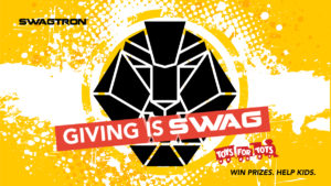 logo for Giving is Swag campaign benefiting Toys For Tots