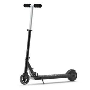 SK3 Foldable Electric Scooter w/ LED Wheels & Kick-Start Boost & Cruise Motor