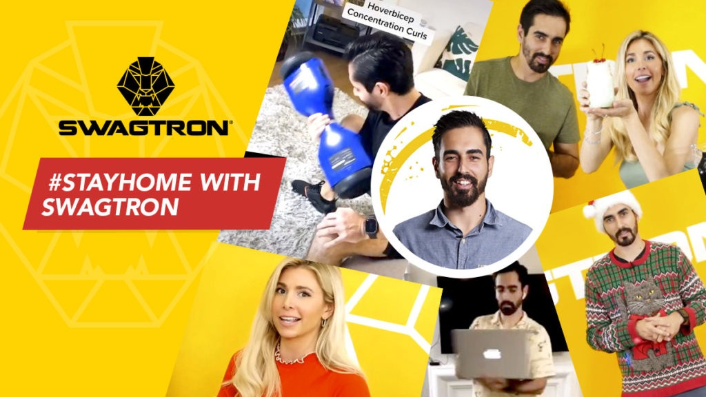 Stay home, flatten the curve and stay entertained with SWAGTRON