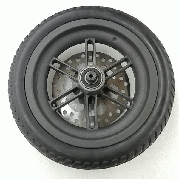 Swagger 5 Scooter - Rear Solid Rubber Tire, Rim, And Rotor 2