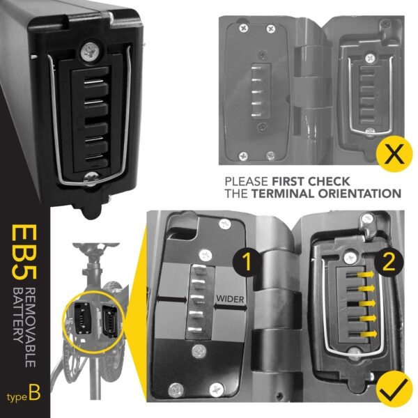 EB5 Replacement Battery Pack (Type B)