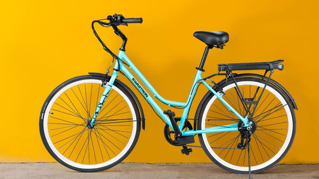 Full side-view image of the EB9 eBike from SWAGTRON.